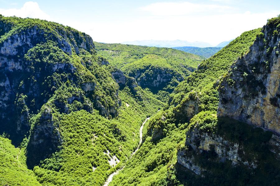Φαράγγι Βίκου Vikos Gorge