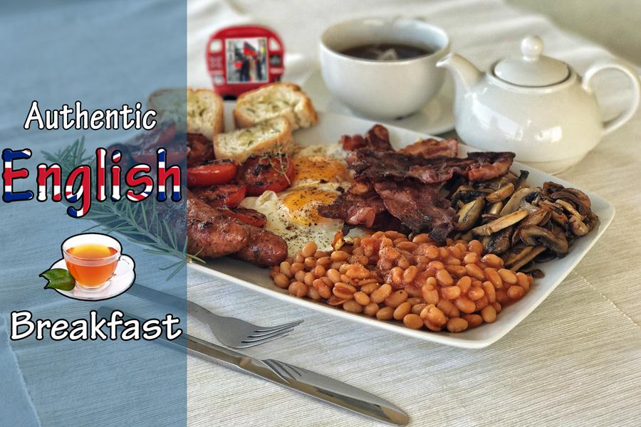 Authentic english breakfast