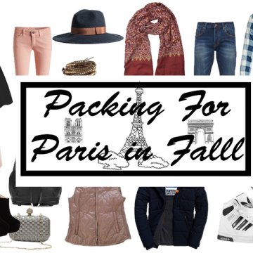 Packing tips for Paris Packing tips για το Παρίσι