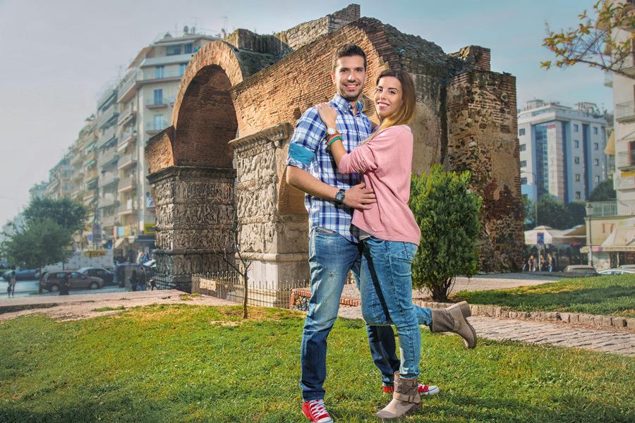 πόλη Θεσσαλονίκη μπουγάτσα Thessaloniki