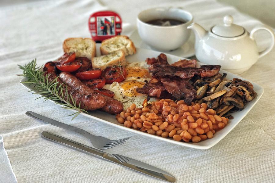Αυθεντικό Αγγλικό πρωινό