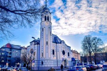Μπλε Ναός Αγ. Ελισάβετ Blue Church