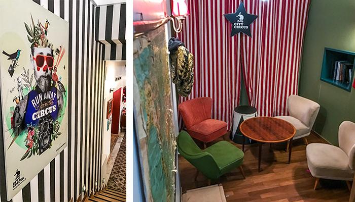 615f7ea2dfee To City Circus Athens είναι ένας εναλλακτικός χώρος για ταξιδιώτες που  αγαπούν τη λιτή αλλά ποιοτική διαμονή. Όπως είναι λογικό (από το όνομά του)  το Hostel ...