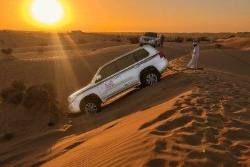 Σαφάρι στην έρημο του Ντουμπάι Safari in the desert of Dubai