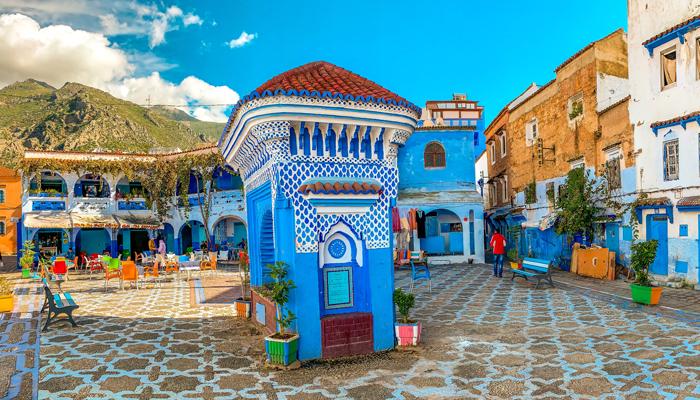 El-hauta-plaza-Chefchaouen-Σεφσαουέν-Morocco-Travelen