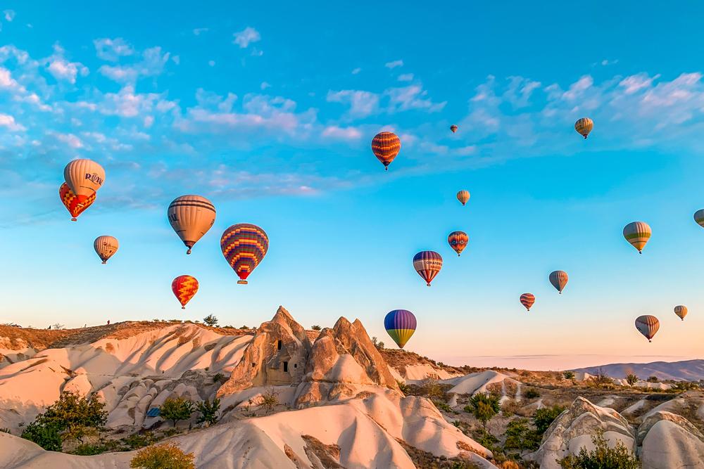 αερόστατο Καππαδοκία Cappadocia Balloon ride