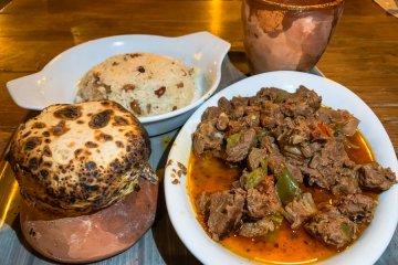 Τοπική κουζίνα Καππαδοκίας Cappadocia's local cuisine