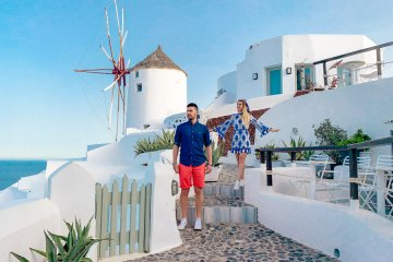 10 Years Challenge: Σαντορίνη 10 Years Challenge: Santorini