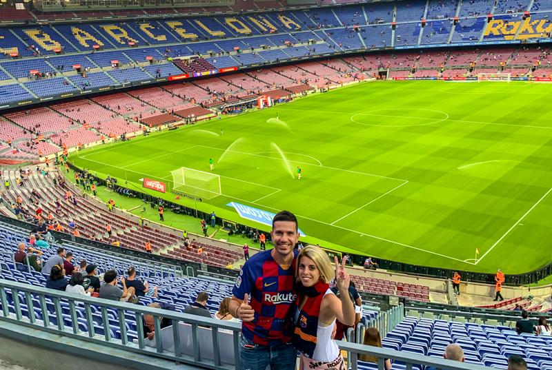 Barcelona En Stories Camp Nou